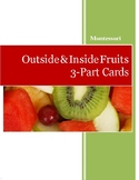 Outside & Inside Fruits 3-Part Cards