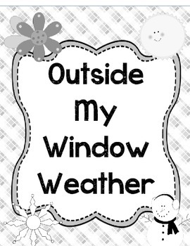 Outside My Window Seasons & Weather Student Book