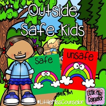 Outside Safe Kids: Safe and Unsafe Choices PowerPoint for Early Childhood