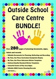 Outside School Care Centre Mega BUNDLE! - OSHC Documents, Signage & Labels