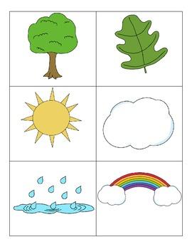 Outside Vocabulary Cards- Freebie!