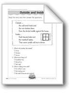 Outside and Inside (descriptive writing)