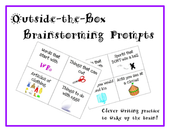 Outside-the-Box Brainstorming Prompts