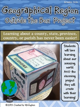Exploring Geographical Regions {An Outside the Box Project}