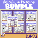 Articulation Programs & Homework for speech and language therapy