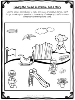 Articulation Program: /l/ blends for speech and language therapy