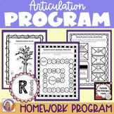Articulation Program: /r/ blends for speech and language therapy