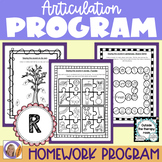 Articulation Program: /r/ for speech and language therapy
