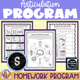 Articulation Program: /s/ for speech and language therapy