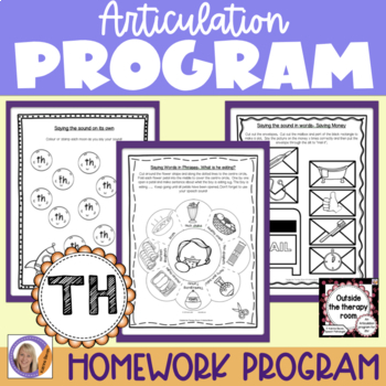 Articulation Program: /th/ Outside the Therapy Room