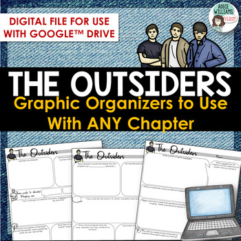 Outsiders - Chapter Response For ANY chapter! Digital / Google Version