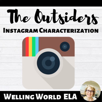 Outsiders Character Instagram Page