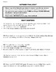 Outsiders Common Core Aligned Final Essay-Includes 5 prompts and Outline