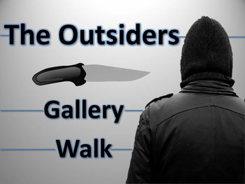 Outsiders Gallery Walk: Writing and Image Analysis Activity