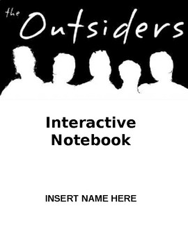 Outsiders Interactive Notebook Version B