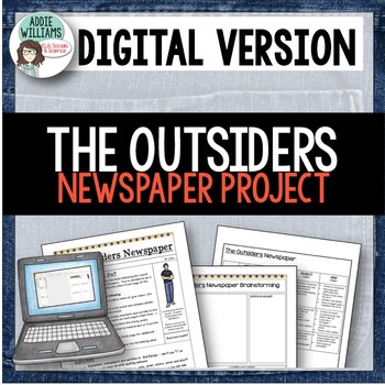 Outsiders - Newspaper Project - Google / OneDrive Version