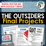 Digital - The Outsiders Projects for Final Assessment