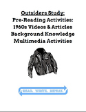 Outsiders Study: *NO PREP* Outsiders 1960s Pre-Reading Vid