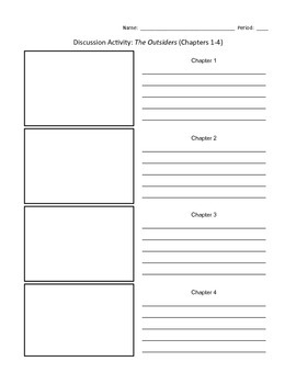 Outsiders Unit: Ch. 1-4 Review Activity