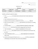 Outsiders Vocab Quiz Ch 1-4