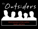 Outsiders by S.E. Hinton Pre-Reading Introduction to Novel .ppt
