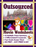 Outsourced Movie Worksheets & Puzzles