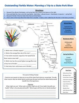Outstanding Florida Water:  Planning a Trip to a State Park River