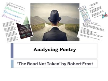 Outstanding Lesson on 'The Road Not Taken' by Robert Frost: Analysing Poetry