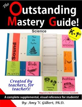 Outstanding Mastery Guide - Science - Kindergarten & 1st Grade