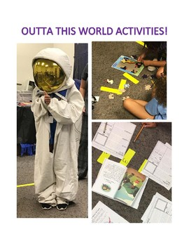Outta This World: Activities and Lesson Plans for ELA and Science Intergration
