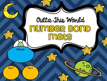 Outta This World Number Bond Mats