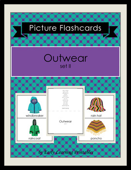 Outwear (set II) Picture Flashcards