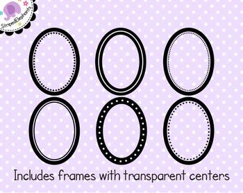 Oval Digital Frame Collection