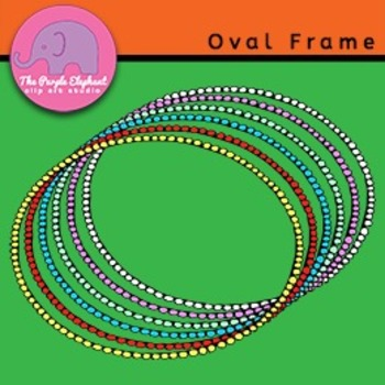 Oval Frames in 6 colors