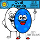 Oval Friends Clip Art
