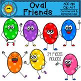 Oval Friends Clip Art