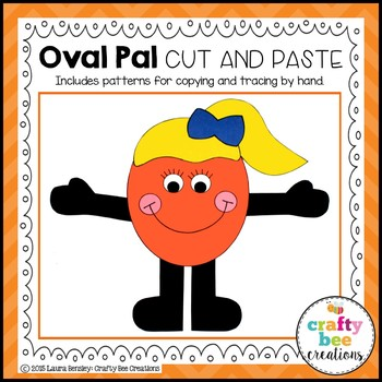 Oval Pal Cut and Paste