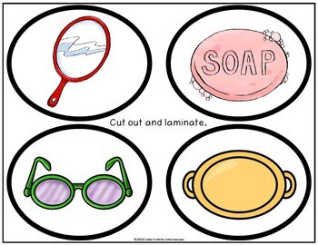Oval Shape Picture Web Activity for Preschool