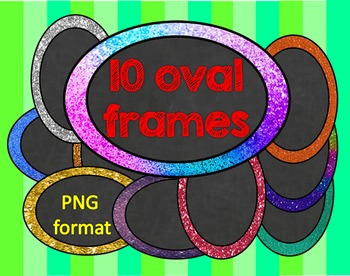 Oval frames FREE
