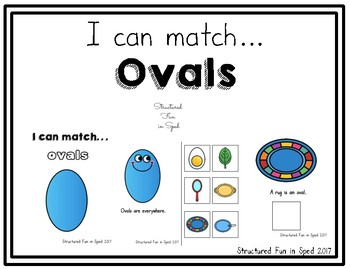 Ovals Adapted Book