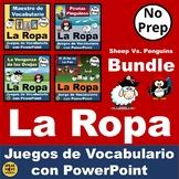 BUNDLE Ovejas Vs. Pingüinos. Spanish PowerPoint Vocabulary