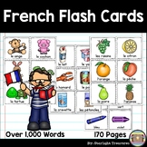 Over 1,000 French Vocabulary Flash Cards for Learning French