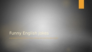 Over 100 English Jokes and Memes