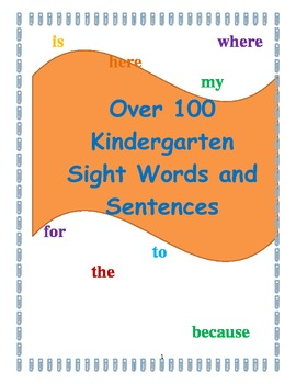 Over 100 Sight Words and Sentences