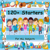 Over 120 Starters - Useful In Every Subject