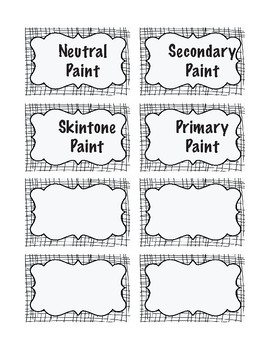 Over 20 pages of Labels, Ready to USE!