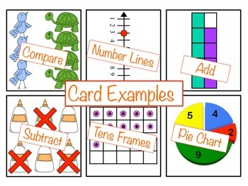 Over 300 Pre-K/K MATH Flash CARDS!!!
