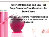 340 Middle School Reading-ELA Test Prep Common Core Questi