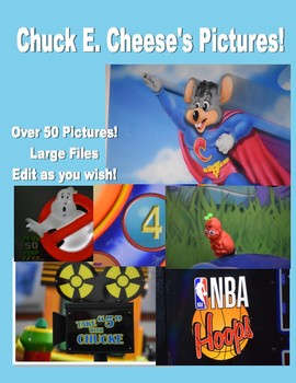Over 50 Chuck E. Cheese's Pictures!!