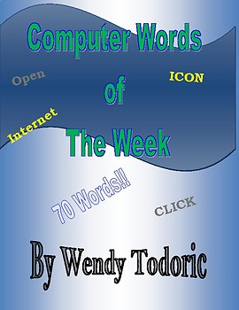 Over 70 Computer Words!
